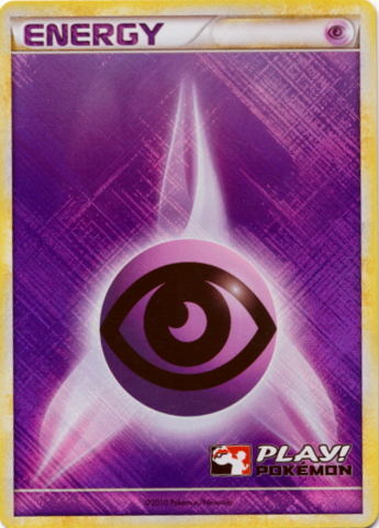 Psychic Energy - 2010 Crosshatch Holo Play! Pokemon Promo