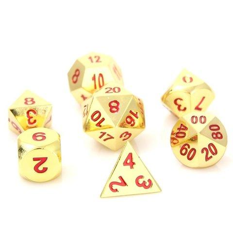 RPG Set - Shiny Gold Ruby