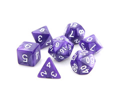 RPG Set - Purple Swirl w/ Gold
