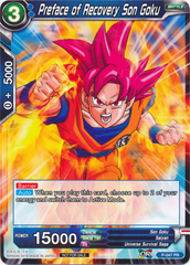 Preface of Recovery Son Goku - P-047 - PR