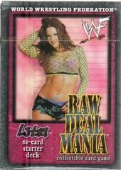 Raw Deal Mania Lita Starter Deck