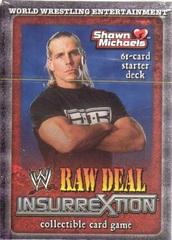 Raw Deal Insurrextion Shawn Michaels Starter Deck