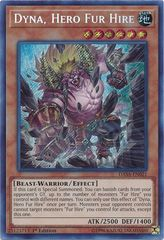 Dyna, Hero Fur Hire - DASA-EN021 - Secret Rare - 1st Edition