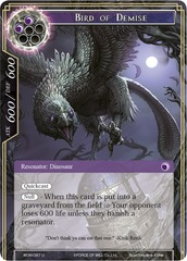 Bird of Demise - WOM-087 - U