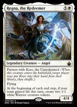 Regna, the Redeemer - Foil