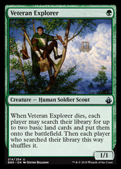 Veteran Explorer on Channel Fireball