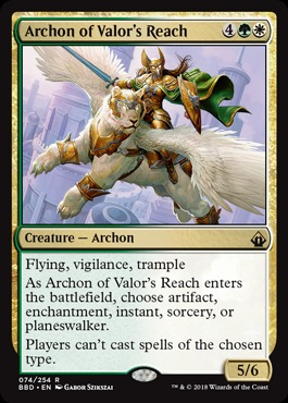 Archon of Valors Reach