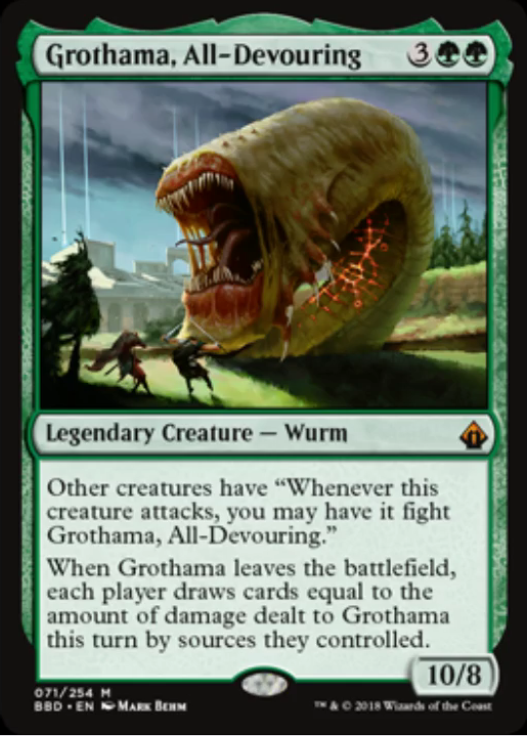 Grothama, All-Devouring