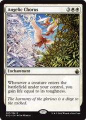 Angelic Chorus - Foil on Channel Fireball
