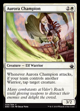 Aurora Champion - Foil