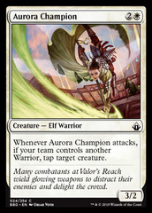 Aurora Champion - Foil on Channel Fireball