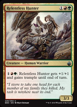 Relentless Hunter - Foil
