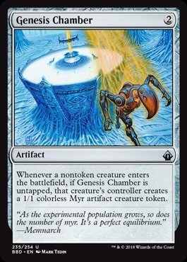 Genesis Chamber - Foil