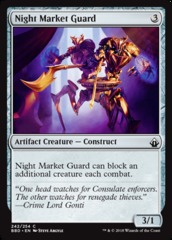 Night Market Guard - Foil