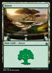 Forest (254) on Channel Fireball