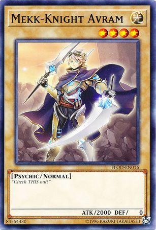 Mekk-Knight Avram - FLOD-EN016 - Common - Unlimited Edition