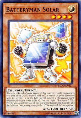 Batteryman Solar - FLOD-EN027 - Common - Unlimited Edition
