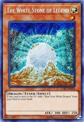 The White Stone of Legend - LCKC-EN010 - Secret Rare - Unlimited Edition
