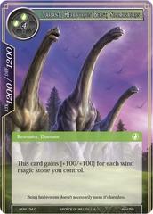 [Variant] Herbivorous Beast, Silomosaurus - WOM - 124 - C