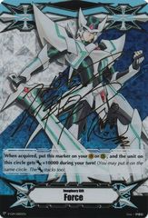 Imaginary Gift [Force] (Blaster Blade Art) - V-GM/0005EN - Gold Hot Stamp - V-TD01 Promo