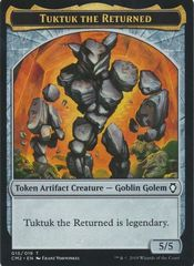Tuktuk the Returned Token