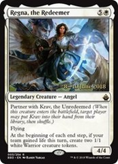 Regna, the Redeemer - Foil - Release Promo