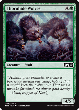 Thornhide Wolves - Foil