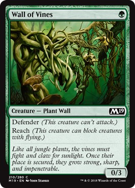 Wall of Vines - Foil