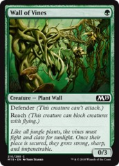 Wall of Vines - Foil on Channel Fireball
