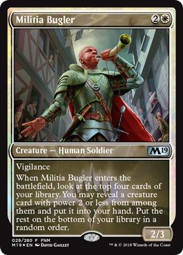 Militia Bugler (FNM Foil)