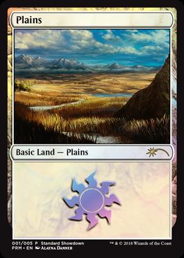 Plains - Foil - 2018 Standard Showdown