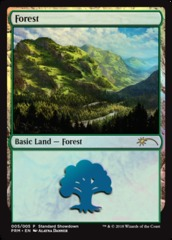Forest - Foil - 2018 Standard Showdown