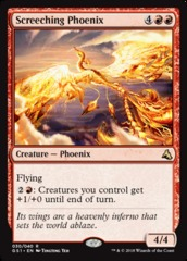 Screeching Phoenix on Channel Fireball