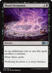 Blood Divination - Foil
