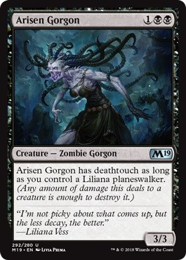 Arisen Gorgon - Planeswalker Deck Exclusive