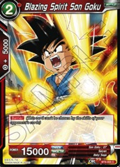 Blazing Spirit Son Goku (Foil) - BT4-005 - C