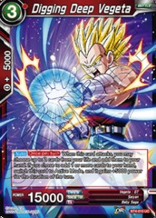 Digging Deep Vegeta - BT4-010 - UC