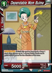 Dependable Mom Bulma (Foil) - BT4-013 - C