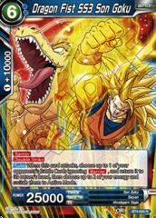 Dragon Fist SS3 Son Goku - BT4-025 - R
