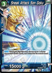 Sneak Attack Son Goku - BT4-026 - C