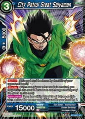 City Patrol Great Saiyaman - BT4-027 - UC