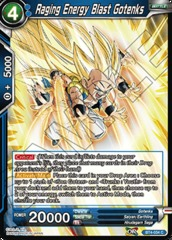 Raging Energy Blast Gotenks (Foil) - BT4-034 - C