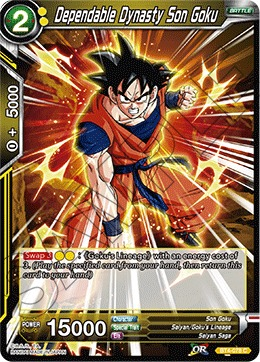 Dependable Dynasty Son Goku - BT4-078 - C