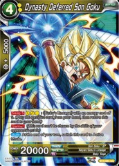Dynasty Deferred Son Goku (Foil) - BT4-081 - UC