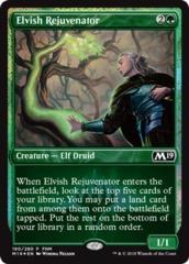 Elvish Rejuvenator - Apr 2018 Foil