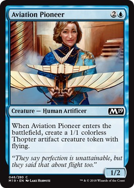 Aviation Pioneer - Foil