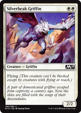 Silverbeak Griffin