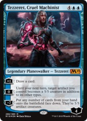 Tezzeret, Cruel Machinist - Foil - Planeswalker Deck Exclusive