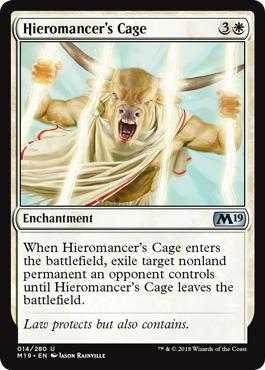 Hieromancers Cage