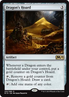 Dragons Hoard - Foil